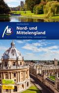 Nord- und Mittelengland Reiseführer, m. 1 Karte