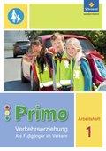 Primo Verkehrserziehung, Ausgabe 2017: 1. Schuljahr, Als Fußgänger im Verkehr