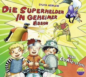Die Superhelden in geheimer Mission, Audio-CD