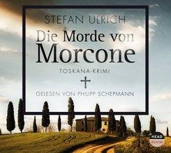 Die Morde von Morcone, 5 Audio-CDs
