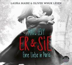 Er & Sie - eine Liebe in Paris, 5 Audio-CDs