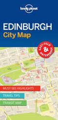 Lonely Planet Edinburgh City Map