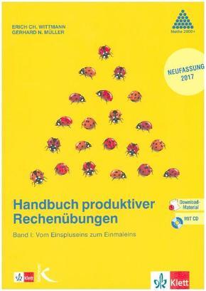 Handbuch produktiver Rechenübungen, m. CD-ROM - Bd.1