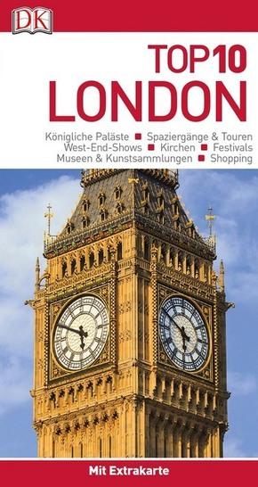 Top 10 Reiseführer London, m. 1 Karte