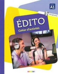 Édito: Cahier d'exercices, m. MP3-CD; A1