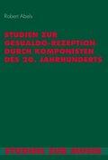 Studien zur Gesualdo-Rezeption durch Komponisten des 20. Jahrhunderts