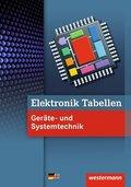 Elektronik Tabellen Geräte- und Systemtechnik