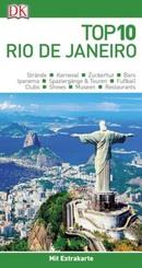 Top 10 Reiseführer Rio de Janeiro, m. 1 Beilage