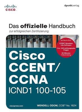 Cisco CCENT/CCNA ICND1 100-105, m. DVD-ROM
