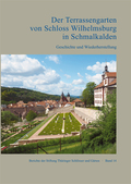 Der Terrassengarten von Schloss Wilhelmsburg in Schmalkalden