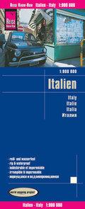 Reise Know-How Landkarte Italien; Italy / Italie / Italia