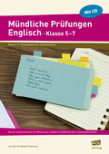 Mündliche Prüfungen Englisch - Klasse 5-7, m. CD-ROM