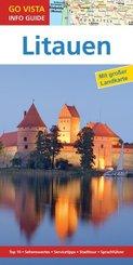 Go Vista Info Guide Reiseführer Litauen, m. 1 Karte
