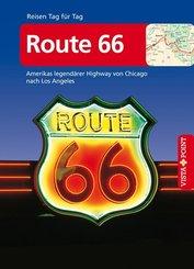 Vista Point Reisen Tag für Tag Reiseführer Route 66, m. 1 Karte