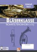 Leitfaden Bläserklasse: 6. Klasse, Schülerheft - Trompete / Tenorhorn - Bd.2