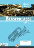 Leitfaden Bläserklasse: 5. Klasse, Schülerheft - Tuba - Bd.1