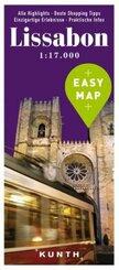 EASY MAP Lissabon 1:17.000