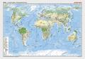Posterkarten Geographie - Erde - Landschaften / Bodenbedeckung