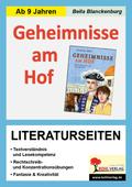 Geheimnisse am Hof - Literaturseiten