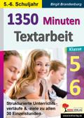 1350 Minuten Textarbeit / Klasse 5-6