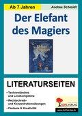 Der Elefant des Magiers - Literaturseiten