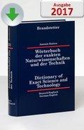 Wörterbuch der exakten Naturwissenschaften und der Technik Deutsch-Englisch/Englisch-Deutsch, CD-ROM