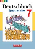 Deutschbuch, Fördermaterial (Neubearbeitung): 7. Schuljahr, Sprachtrainer