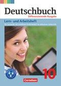 Deutschbuch, Differenzierende Ausgabe: 10. Schuljahr, Lern- und Arbeitsheft für Lernende mit erhöhtem Förderbedarf im inklusiven Unterricht