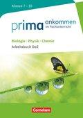 Biologie, Physik, Chemie: Klasse 7-10 - Arbeitsbuch DaZ mit Lösungen