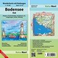NaturNavi Wanderkarte mit Radwegen Bodensee Ost