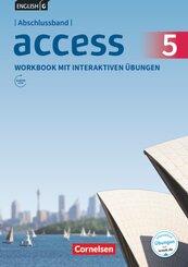 English G Access - Allgemeine Ausgabe: 9. Schuljahr, Workbook Abschlussband mit interaktiven Übungen; 5