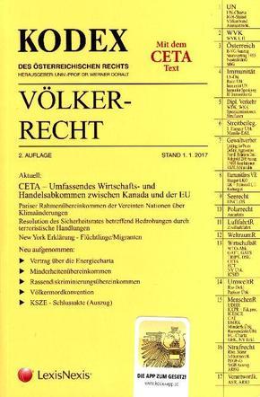 KODEX Völkerrecht 2017