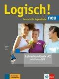 Logisch! Neu - Deutsch für Jugendliche: Lehrerhandbuch mit Video-DVD; .A2