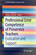Professional Error Competence of Preservice Teachers