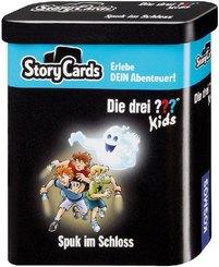 Die drei ??? Kids Storycards - Spuk im Schloss (Kinderspiel)
