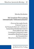 Die heimliche Überwachung internationaler Telekommunikation