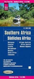 Reise Know-How Landkarte Südliches Afrika (1:2.500.000)