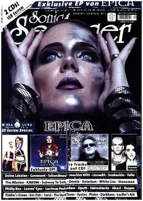 Sonic Seducer: Titelstory Epica, m. Schallplatte (EP/Picture Vinyl) + 2 Audio-CDs (Limited Edition); Ausg.2016/10/Lim
