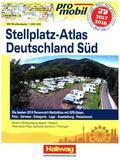 promobil Stellplatz-Atlas Deutschland Süd 2017/18