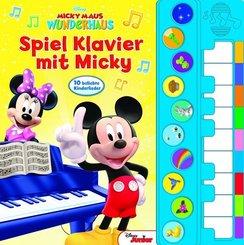 Spiel Klavier mit Micky, m. Soundeffekten