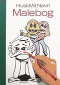 HuskMitNavn Coloring Book