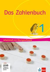 Das Zahlenbuch, Allgemeine Ausgabe 2017: 1. Schuljahr, Arbeitsheft mit CD-ROM