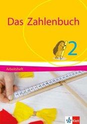 Das Zahlenbuch, Allgemeine Ausgabe 2017: 2. Schuljahr, Arbeitsheft