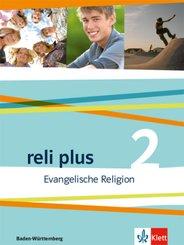 reli plus, Ausgabe Baden-Württemberg ab 2017: 7./8. Schuljahr, Schülerbuch; .2