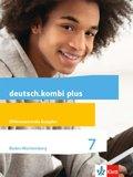 deutsch.kombi Plus, Differenzierende Ausgabe Baden-Württemberg: 7. Schuljahr, Schülerbuch