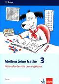 Meilensteine Mathe: 3. Schuljahr, Herausfordernde Lernangebote; .3