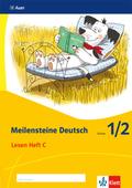 Meilensteine Deutsch (2017): 1./2. Schuljahr, Lesen Heft C