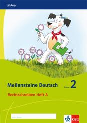 Meilensteine Deutsch (2017): 2. Schuljahr, Rechtschreiben Heft A