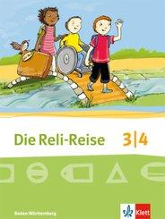 Die Reli-Reise, Ausgabe Baden-Württemberg (2017): 3/4. Schuljahr, Schülerbuch