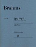 Walzer op. 39 für Klavier, Erleichterte Fassung